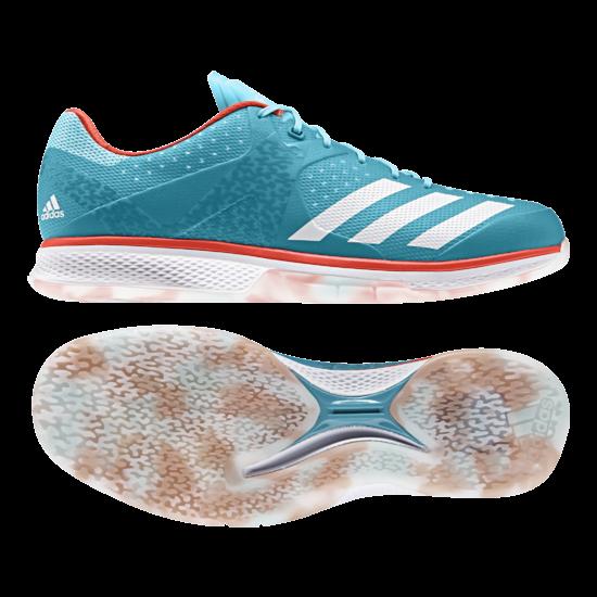 Adidas Counterblast 2017 férfi kézilabdás cipő, fehér, kék, narancs