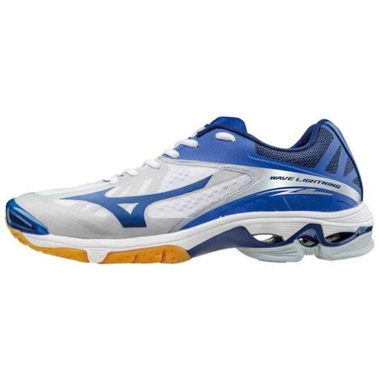 Mizuno Wave Lightning Z2 röplabdás cipő, unisex, fehér, kék