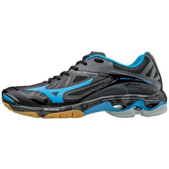 Mizuno Wave Lightning Z2 röplabdás cipő, férfi, fekete, kék