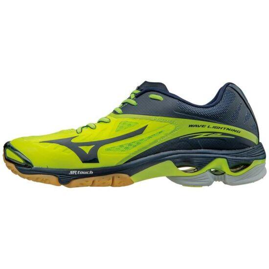 Mizuno Wave Lightning Z2 röplabdás cipő unisex neon sárga, navy