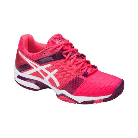 Asics Gel-Blast 7 női kézilabda cipő piros, pink, fehér, lila