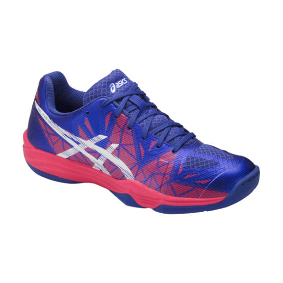 Asics Gel-Fastball3 teremcipő, női, kék, lila, fehér, piros
