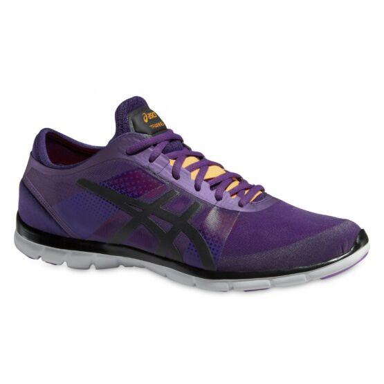 Asics Gel-Fit Nova fitness cipő női, lila,onyx fekete,barack