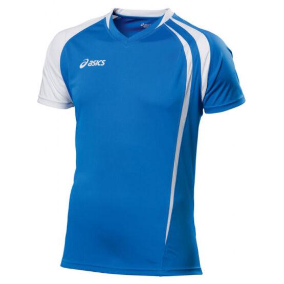 Mez Asics T-Shirt Fan póló rövid ujjú felső fehér,királykék férfi