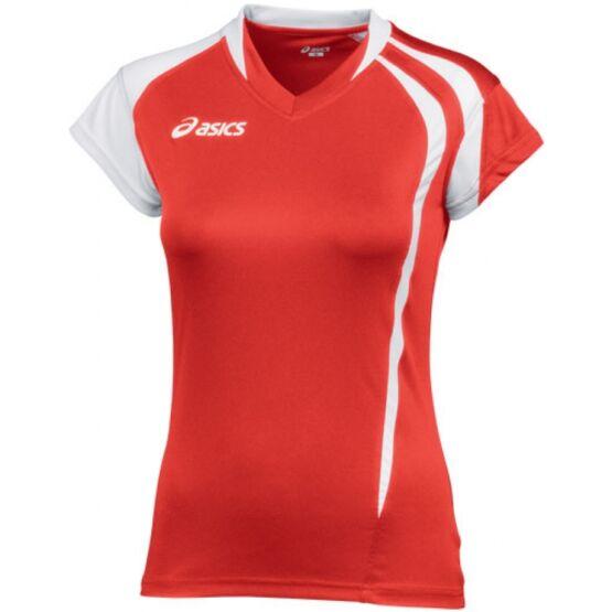 Asics T-Shirt Fanny Lady mez piros,fehér női