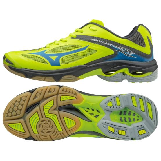Mizuno Wave Lightning Z 2 röplabdás cipő, férfi, lime, navy