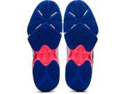 Asics Gel Blade 8 női teremcipő kék/coral