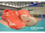 Mizuno Wave Voltage röplabdás cipő női, barack, fehér