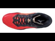 Mizuno Wave Stealth Neo Mid, kézilabdás cipő, unisex, piros/fekete