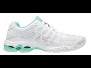 Mizuno Wave Voltage röplabdás cipő női fehér/Coral