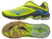 Mizuno Lightning Z3, unisex röplabdás cipő, sárga, kék, fekete