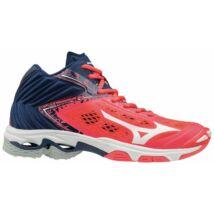 20111be578 Mizuno Wave Lightning Z5 MID röplabdás cipő női piros, fehér, kék