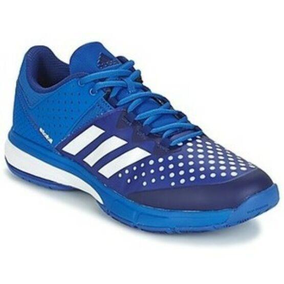 Adidas Court Stabil 13 unisex kézilabdás cipő, kék, fehér (2017)
