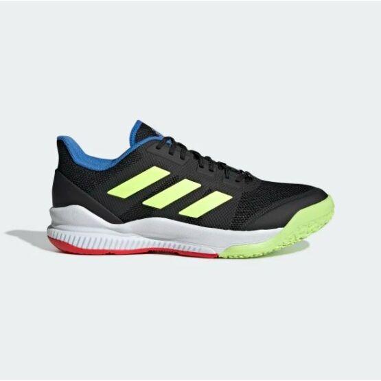 Adidas Stabil Bounce fekete, fehér, zöld