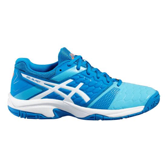Asics Gel-Blast 7 női kézilabda cipő kék, fehér, koral