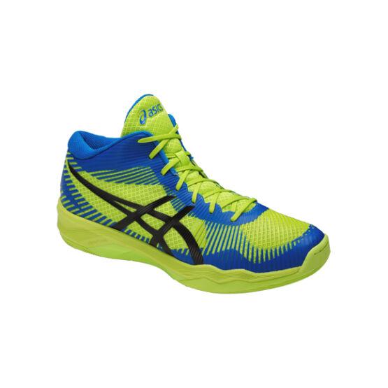 Asics Gel-Volley Elite FF MT röplabdás cipő, férfi, lime, kék