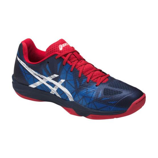 Asics Gel-Fastball3 teremcipő, férfi, kék, fehér, piros