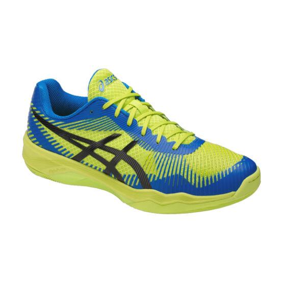 Asics Gel-Volley Elite FF röplabdás cipő, férfi, lime, kék