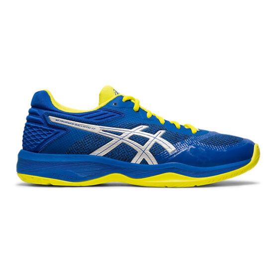 Asics Netburner Ballistic FF röplabdás cipő férfi, kék/sárga