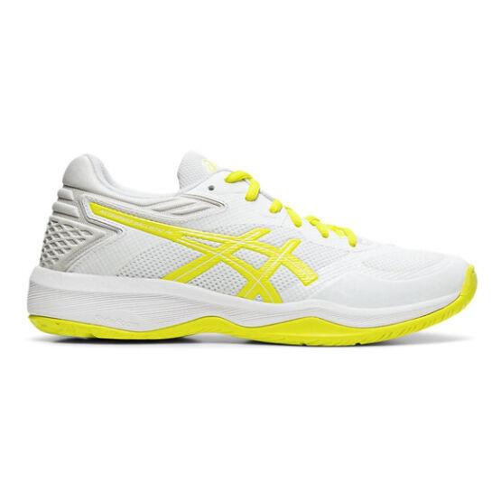 Asics Netburner Ballistic FF röplabdás cipő női, fehér/sárga