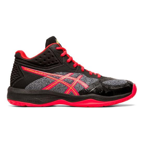 Asics Netburner Ballistic FF MT röplabdás cipő női, fekete/piros