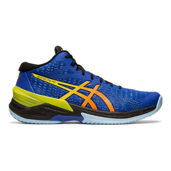 Asics Sky Elite FF MT röplabdás cipő férfi, kék/sárga