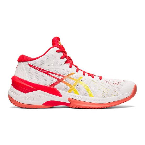 Asics Sky Elite FF MT röplabdás cipő női, fehér/piros