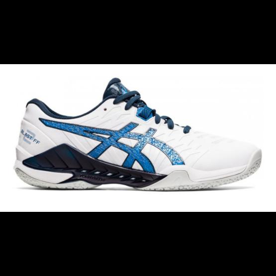 Asics Blast FF 2 kézilabdás férfi cipő, fehér/kék