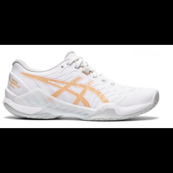Asics Blast FF 2 kézilabdás női cipő, fehér/pezsgő