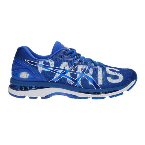 Asics Gel-Nimbus 20 Paris futócipő, férfi, kék, rio