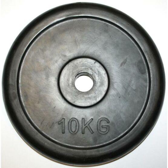 Tárcsasúly gumis 10 kg