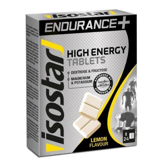 Isostar Energiatabletta Citrom / Energy Tablets Lemon, 24X4 gr