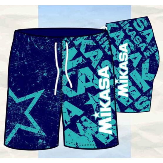 Mikasa strandröplabda nadrág, férfi, limitált, navy, menta