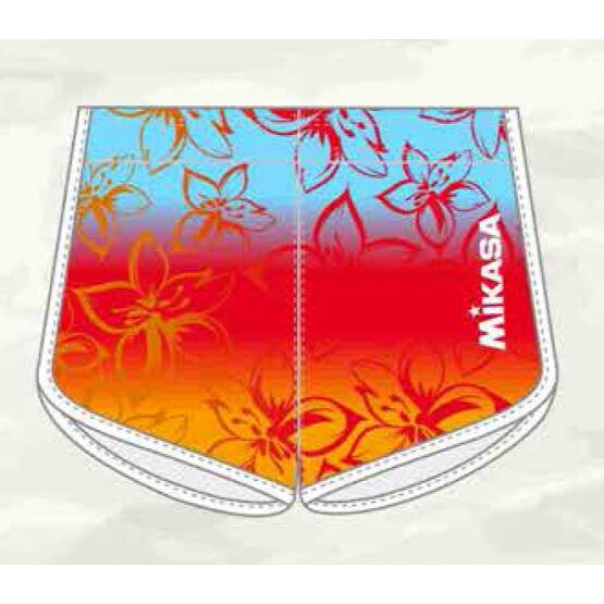 Mikasa strandröplabda nadrág, női short, limitált, kék, narancs, piros