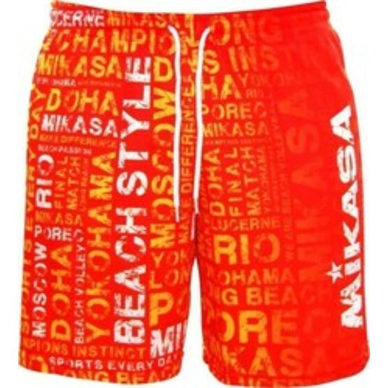 Mikasa strandröplabda nadrág, férfi, limitált, narancs