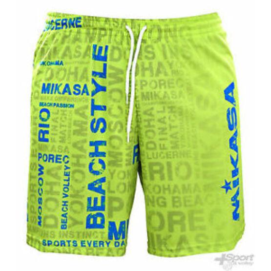 Mikasa strandröplabda nadrág, férfi, limitált, zöld