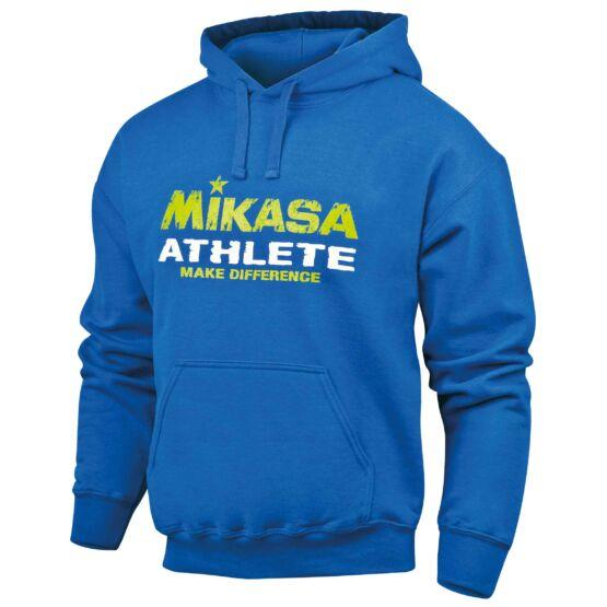 Mikasa pulóver kapucnival és kenguru zsebbel több színben férfi