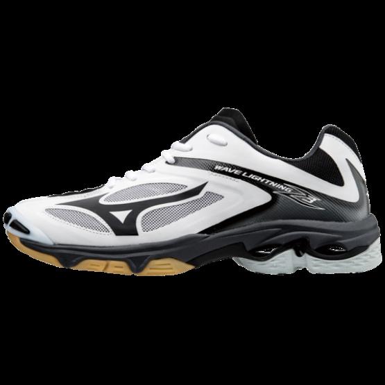 Mizuno Wave Lightning Z 3 röplabdás cipő, férfi, fekete, fehér