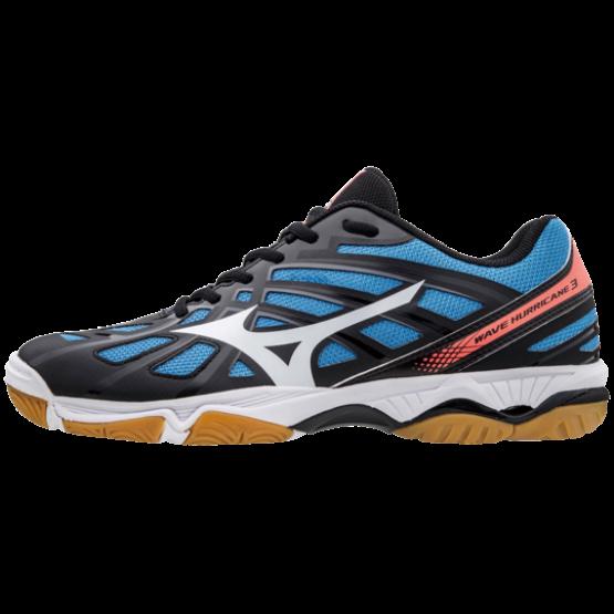 Mizuno Hurricane 3 röplabdás cipő, férfi, sötétkék, kék, fehér