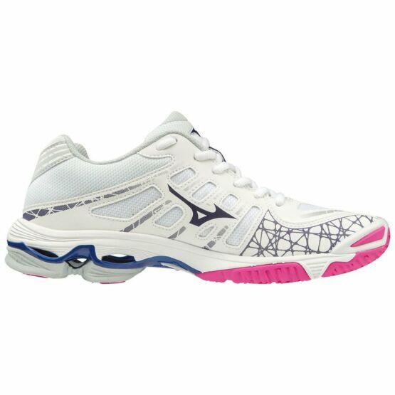 Mizuno Wave Voltage röplabdás cipő női fehér, pink