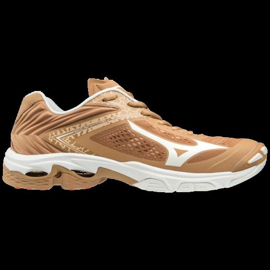 Mizuno Wave Lightning Z5 röplabdás cipő, barna, fehér