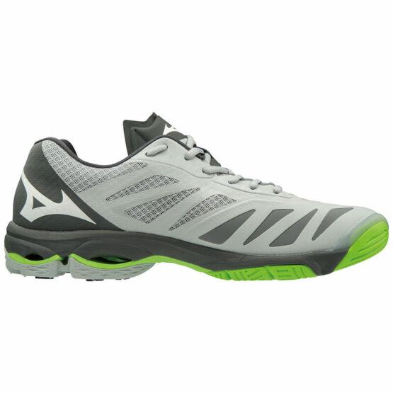 Mizuno Wave Lightning Z5 röplabdás cipő, szürke, fekete, zöld