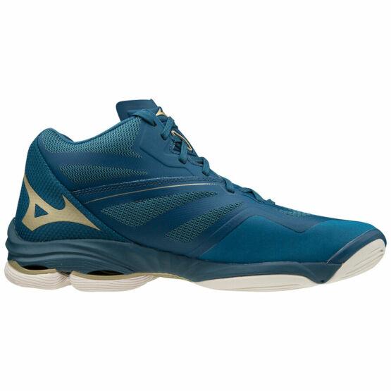 Mizuno Wave Lightning Z6 MID röplabdás cipő unisex, kék