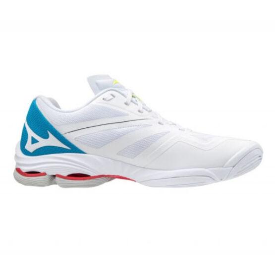 Mizuno Wave Lightning Z6 röplabdás cipő unisex, fehér/kék/fekete
