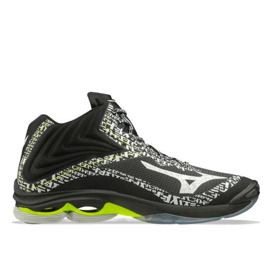 Mizuno Wave Lightning Z6 MID röplabdás cipő férfi fekete