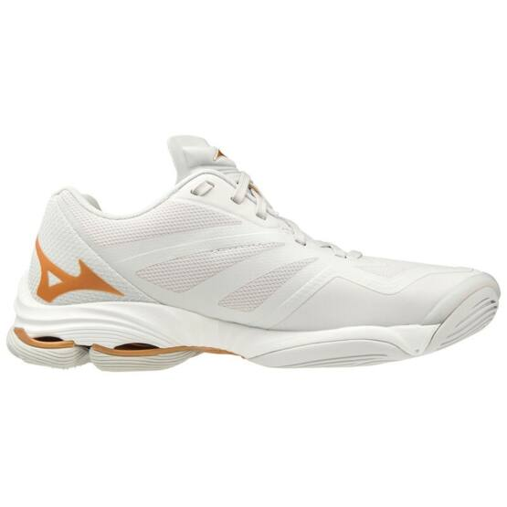 Mizuno Wave Lightning Z6 röplabdás cipő női, fehér/arany