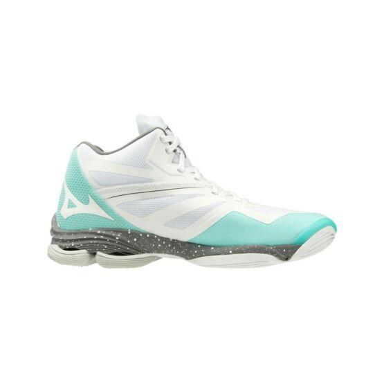 Mizuno Wave Lightning Z6 MID röplabdás cipő női fehér/menta