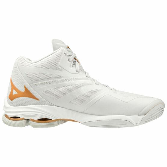 Mizuno Wave Lightning Z6 MID röplabdás cipő női fehér/arany