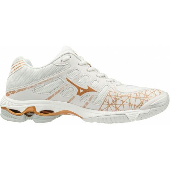 Mizuno Wave Voltage röplabdás cipő női, fehér/arany