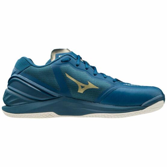Mizuno Wave Stealth Neo, kézilabdás cipő, unisex, kék